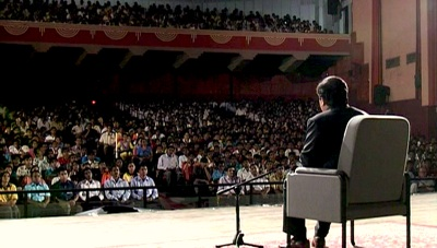 Prem Rawat Maharaji at Science City Auditorium in West Bengal
