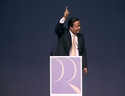 Maharaji Prem Rawat at FICCI- Federation of Indian Chambers of Commerce and Industry at Siri Fort Auditorium, New Delhi, India