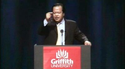 Prem Rawat Maharaji at Griffith University, Australia