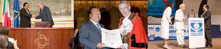 Prem Rawat Maharaji Honored at various forums