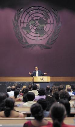 Prem Rawat Maharaji at United Nations Conference Center, Bangkok