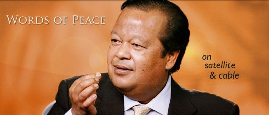 Words of Peace by Maharaji on local TV Channels Across the world
