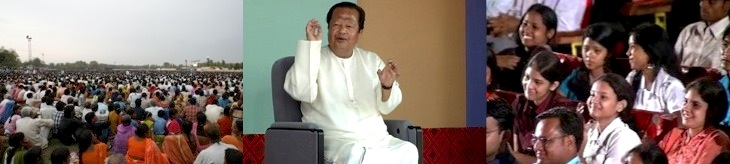 Prem Rawat - Maharaji addressing in India