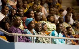 People listening to Prem Rawat - Maharaji