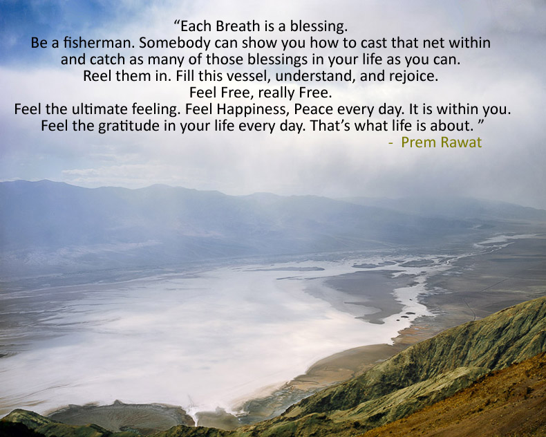 sea wave,Prem Rawat,quote