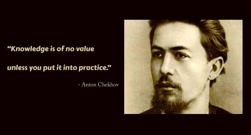 portrait,Anton Chekhov,quote