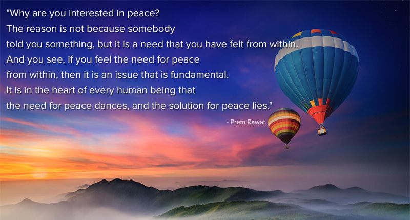 helium balloon,Prem Rawat,quote