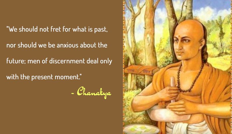 carricature,Chanakya,quote