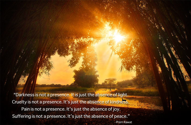 morning sun,Prem Rawat,quote