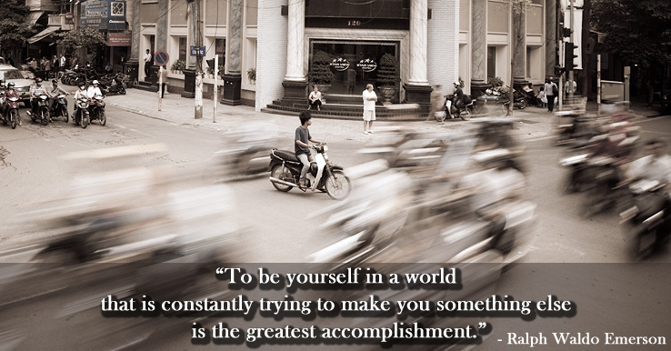 street,crossing,b&w,Ralph Waldo Emerson,quote