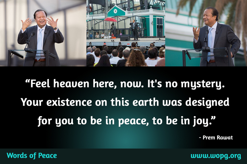 open event,Prem Rawat,quote