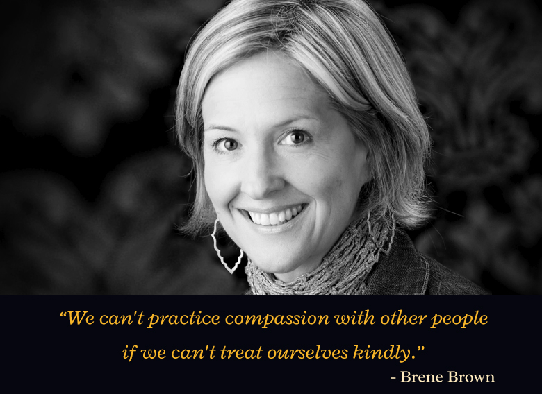 b&w portrait,Brene Brown,quote