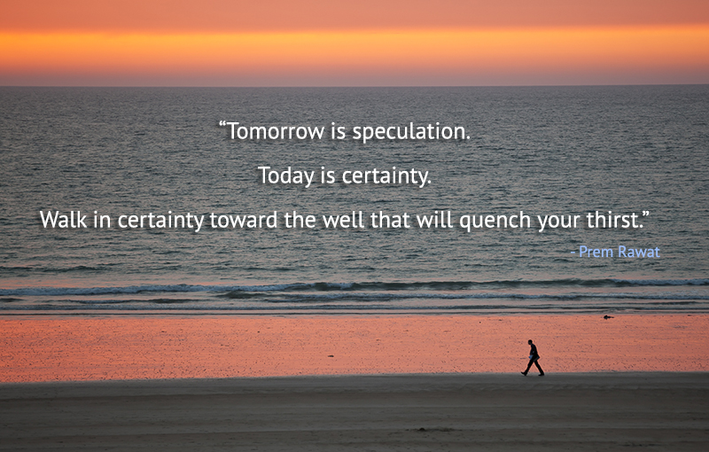 sea shore,Prem Rawat,quote