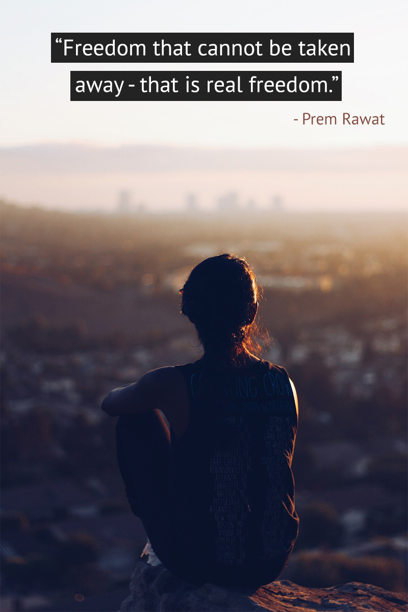 cityline, morning,Prem Rawat,quote