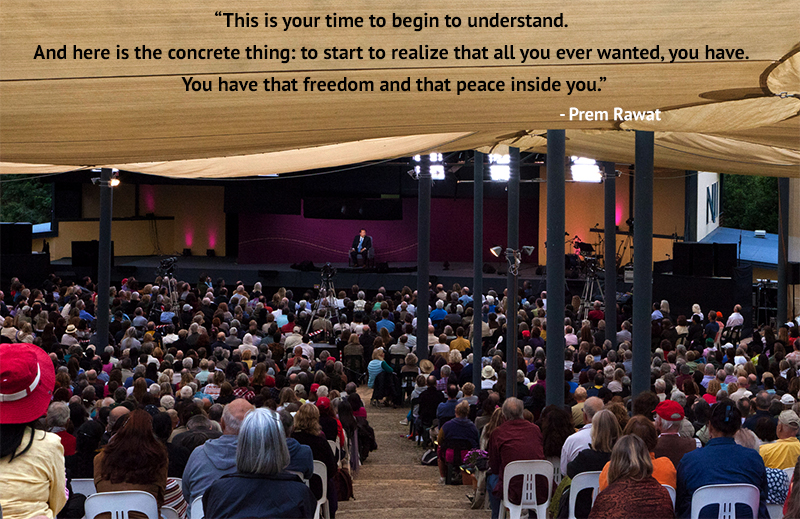amaroo, tent, event,Prem Rawat,quote