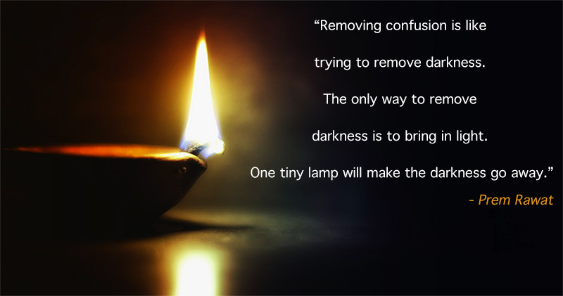 diya, lamp,Prem Rawat,quote