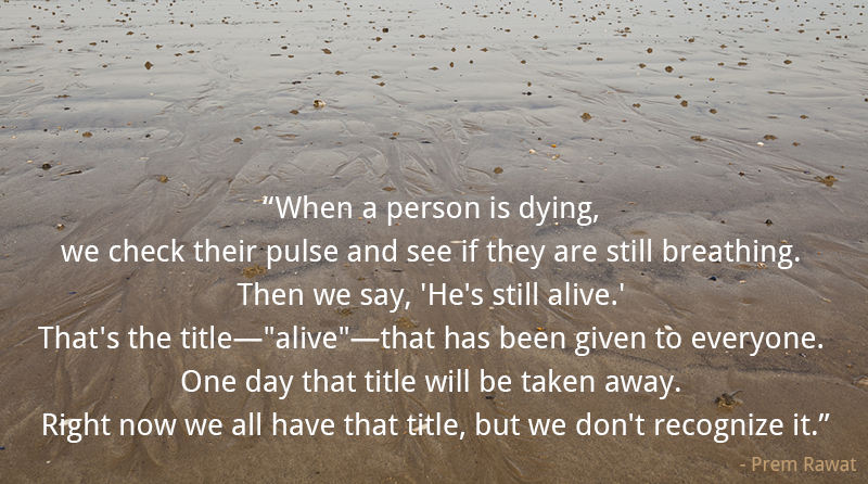 beach,Prem Rawat,quote