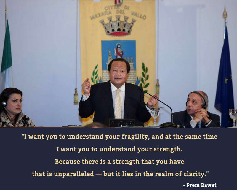 mazara del wallo,Prem Rawat,quote