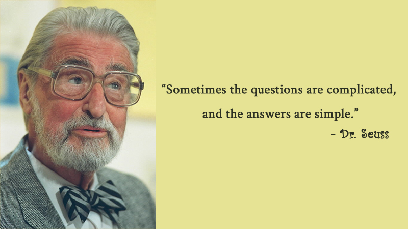 portrait,Dr. Seuss,quote