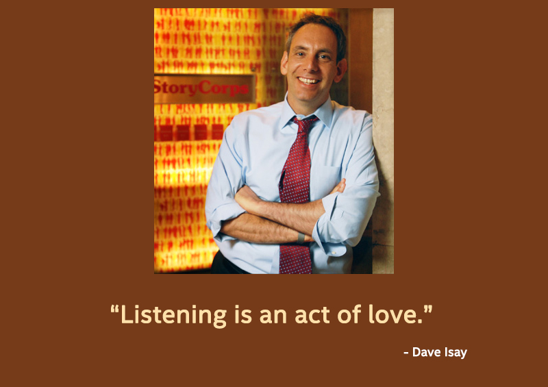 Dave Isay,quote