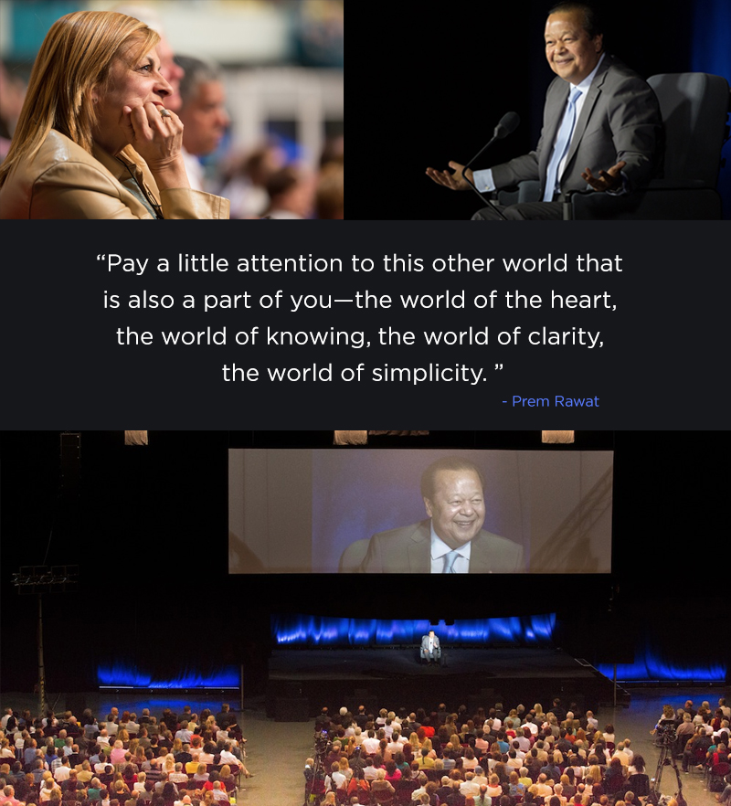 Prem Rawat Quote Of The Day: Pay A Little Attention To This Other World…