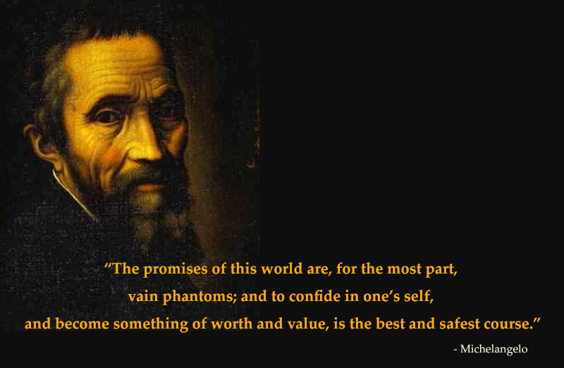 portrait,Michelangelo,quote