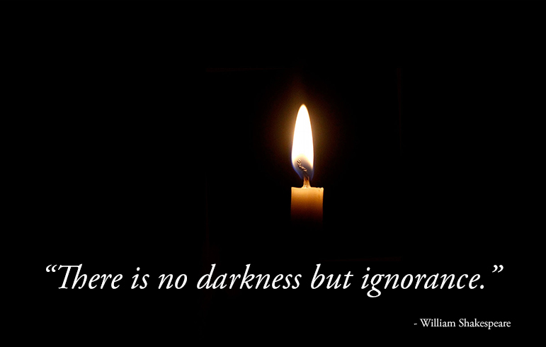 candle,William Shakespeare,quote