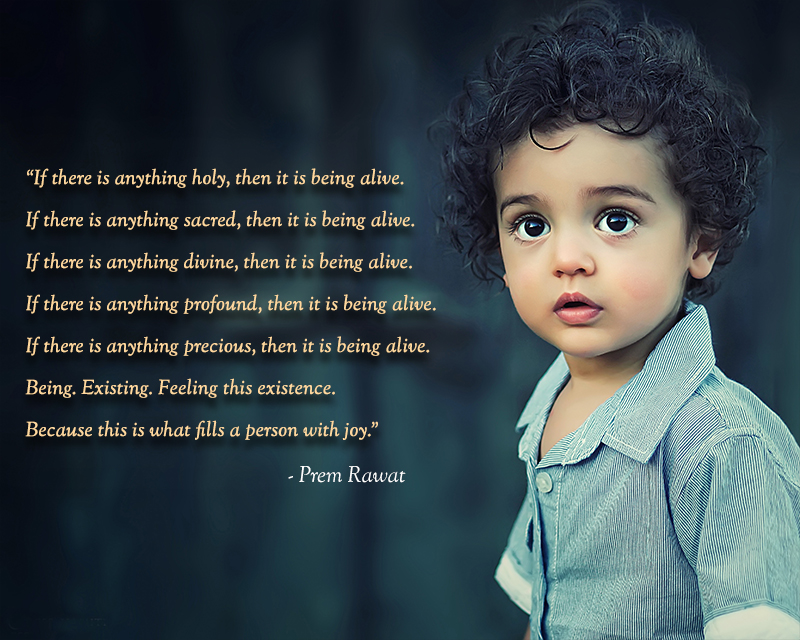 curly boy,Prem Rawat,quote