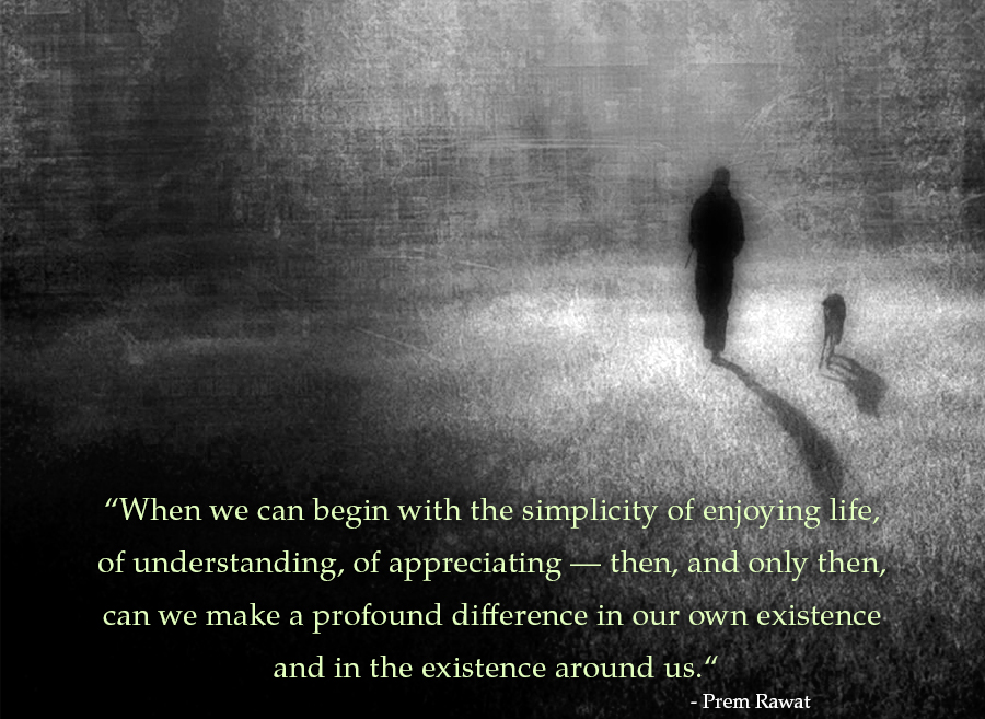 charcoal paint,Prem Rawat,quote