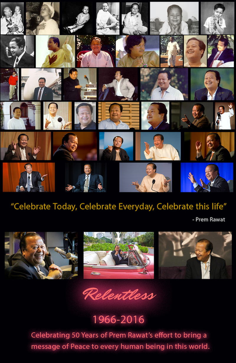golden jubilee,Prem Rawat,quote