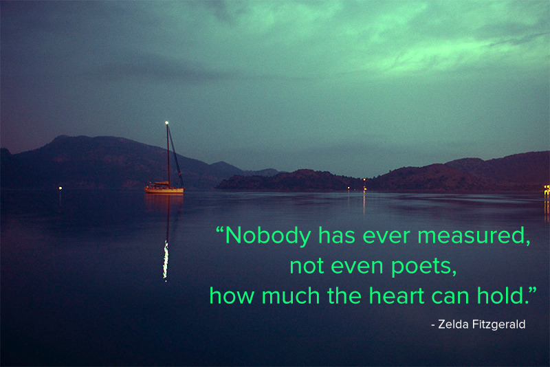 lake,Zelda Fitzgerald,quote