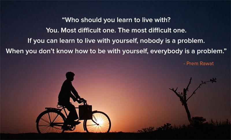 cycle,Prem Rawat,quote