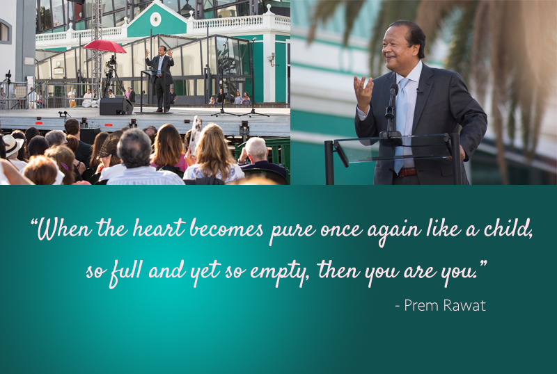 open air event,Prem Rawat,quote