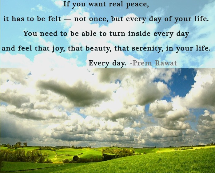 sky,clouds,Prem Rawat,quote