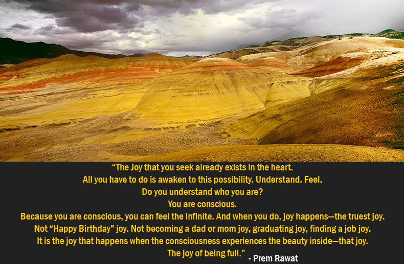HDR,grass,mountain,Prem Rawat,quote