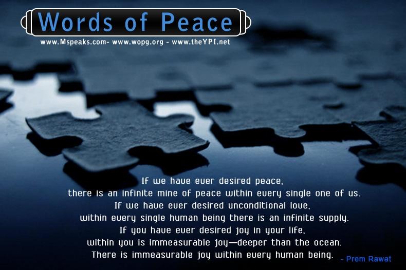 puzzle,Prem Rawat,quote