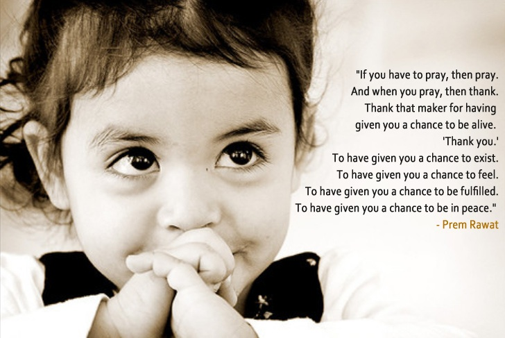 girl child,Prem Rawat,quote