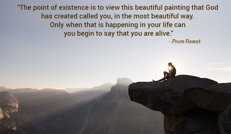cliff,Prem Rawat,quote