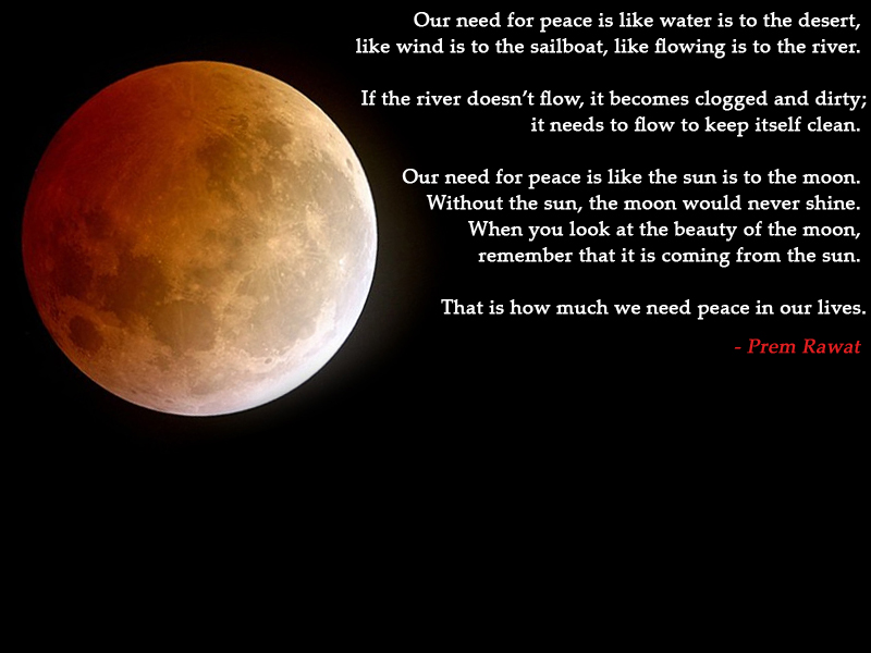 moon,Prem Rawat,quote
