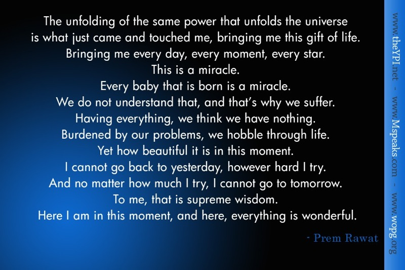 black blue abstract,Prem Rawat,quote