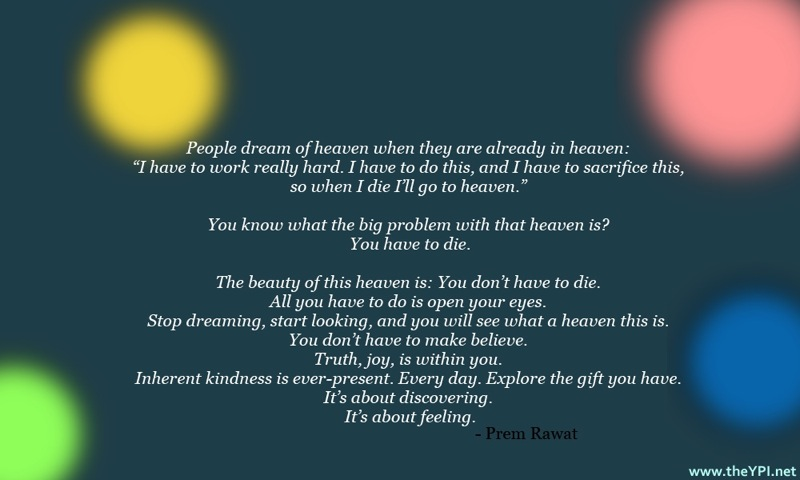 green,Prem Rawat,quote