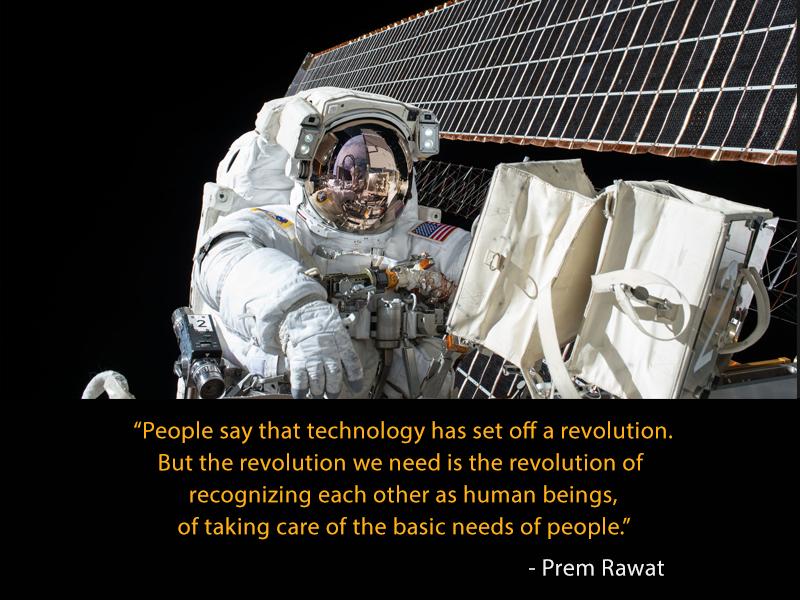 astronaut,Prem Rawat,quote
