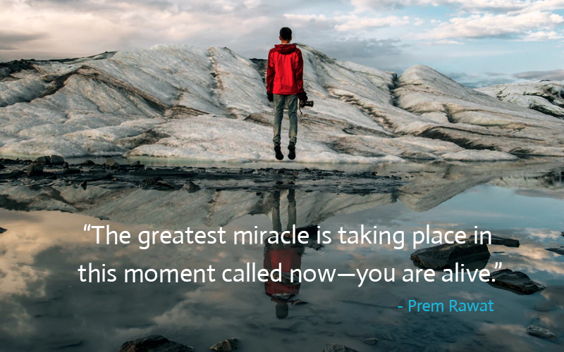 serene, reflection,Prem Rawat,quote