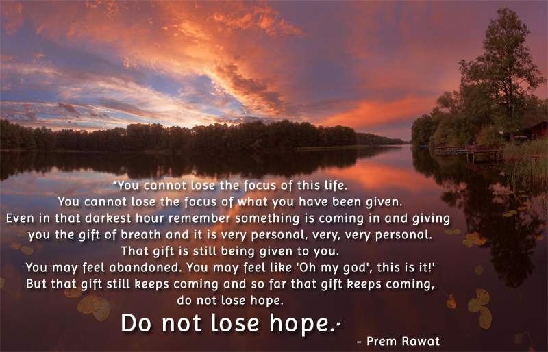sunrise,Prem Rawat,quote