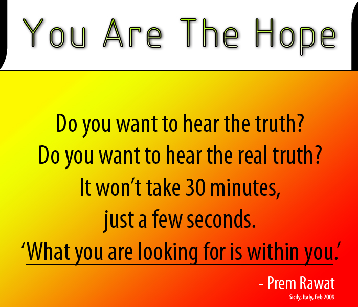 orange,Prem Rawat,quote
