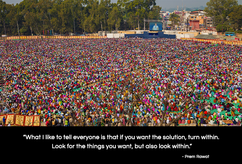 india, ground, event,Prem Rawat,quote