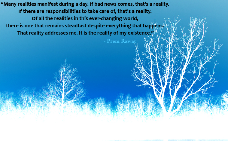 snow tree,Prem Rawat,quote