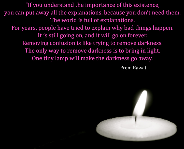 lamp,candle,Prem Rawat,quote