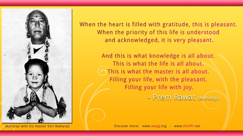 shri maharaji,Prem Rawat,quote