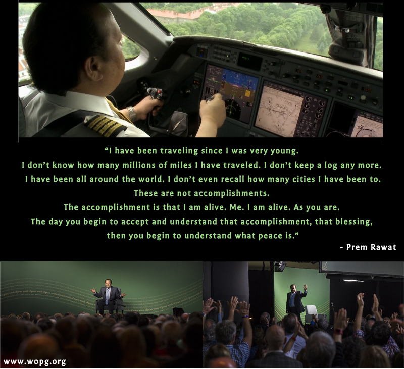 plane,flight,flying,pilot,captain,Prem Rawat,quote